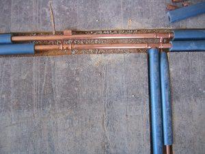 Heizungsrohre, Kupferrohr, Leitungsrohr, Wasserleitung