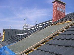 Dach, Dachziegel, Dächer, Flachdach, Steildach, Kamin, Schornstein