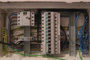 Elektroinstallationskanäle, Elektrizität, Installation, Kana, Kanäle, Schalter, Kabel, Verknüpfungen