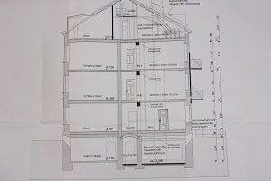 Fachplaner, Bauplan, Gebäude, Zimmer, Aufteilung, Zeichnung, Rohbau