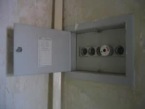 Lichtschalter, Steckdosen, Sicherung, Licht aus, Licht an