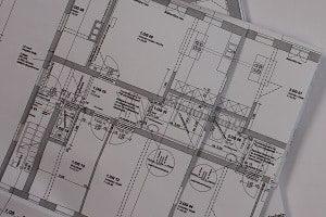 Prüfingenieur, Prüfung, Ingenieur, Bauplan, Planung, Gebäude, Immobilie, Räume, Zimmer, Anschlüsse