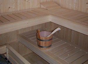 Sauna, Entspannung, Holz, Schweiß, Handtuch, Aufguss
