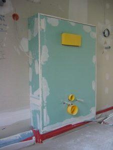 Vorwandinstallation, Wand, Installation, Kabel, Anschlüsse, Rohre,