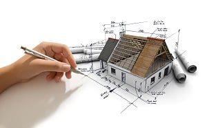 Struktur, Haus, Modell, Skizze