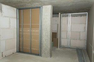 Trockenmauer, installieren, Architektur, Bau