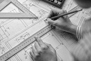 Architekt, Plan, Hand